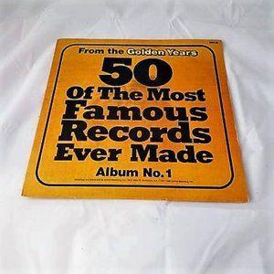 50 Of The Most Famous Records Vinyl LP Vol. 1